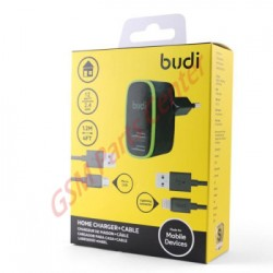 Chargeur budi 2usb cable...
